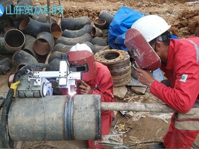 地埋管道自动焊接案例