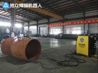 管道预制厂自动焊接案例