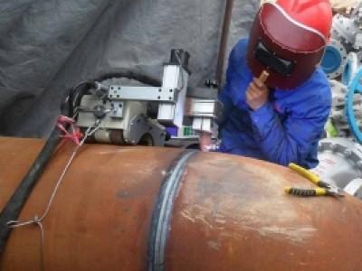 化工管道自动焊机案例