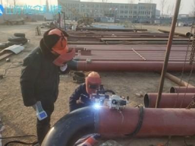 热力管道自动焊接案例