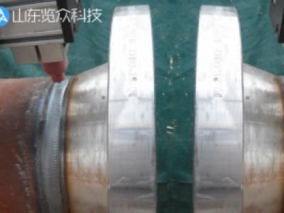 管法兰环缝自动焊接案例